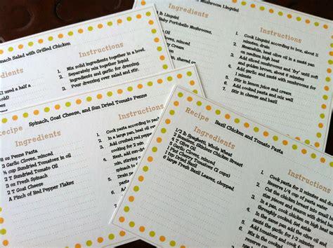 recipe card template martha stewart recipe cards martha stewart recipes recipe box and