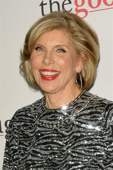 Christine Baranski Christine Baranski At The Fight Premiere In New