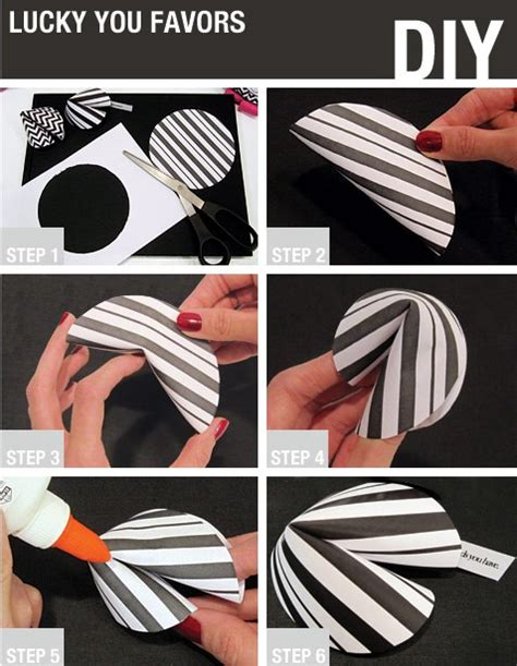 How To Make A Paper Fortune Cookie Step By Step - fortune cookies recipes paper patterns fabric
