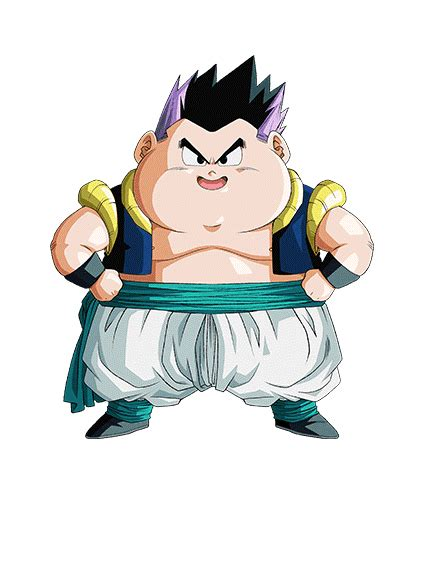dokkan card template png bulge gotenks failure a phy sr cards