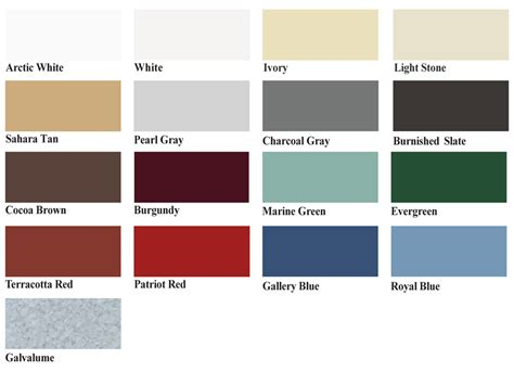 color panel metal roofing best buy metals
