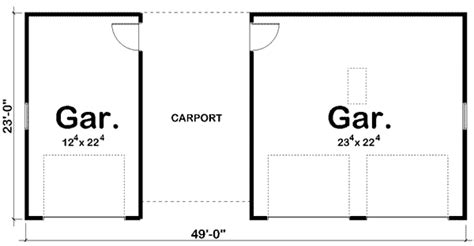 Standard Carport Dimensions architectural designs