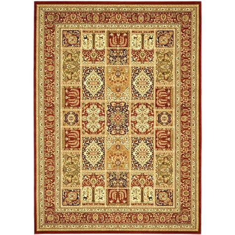 8 X 12 Area Rugs by Safavieh Lyndhurst Multi 8 Ft 11 In X 12 Ft Area
