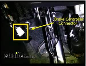 installing a brake controller on 2005 toyota tundra etrailer