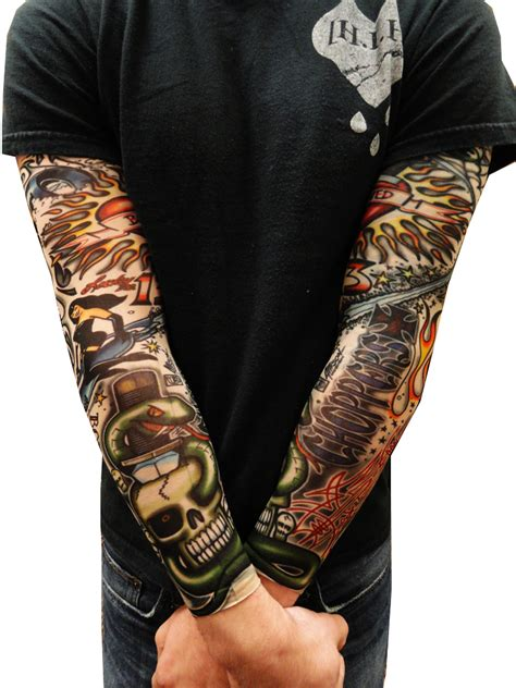 tattoo sleeves fake sleeves vintage rockabilly sleeves pair