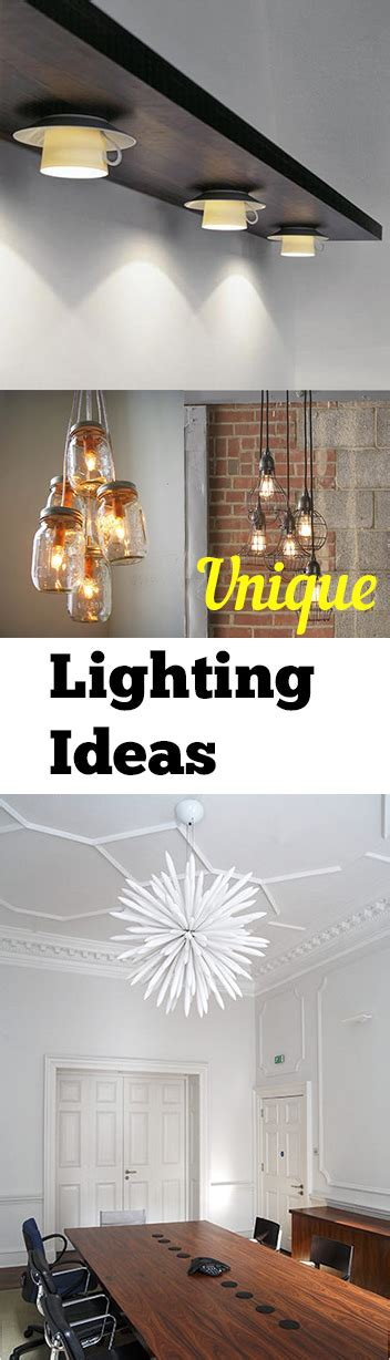 Unique Lighting Ideas | unique light fixture ideas my list of lists