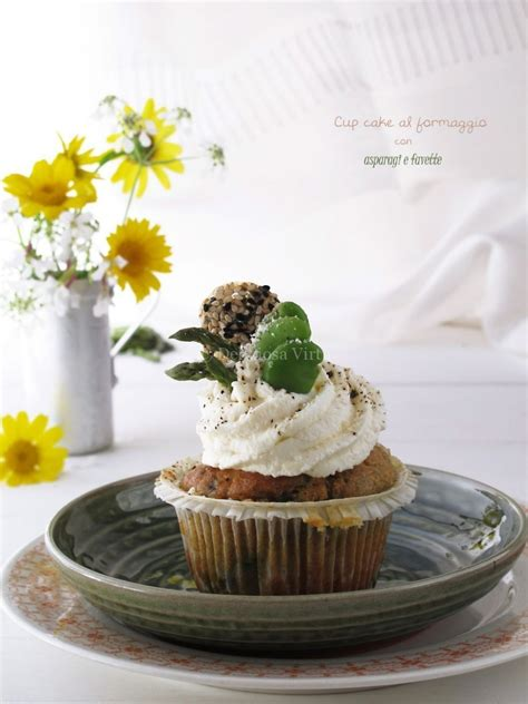 come cucinare le favette fresche cupcakes al formaggio con asparagi e favette deliziosa virt 249