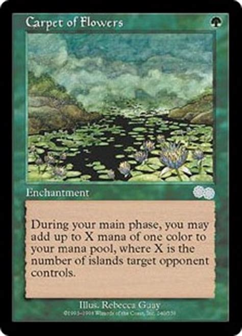 Mtg Deck Types by Carpet Of Flowers Urza S Saga Gatherer Magic The