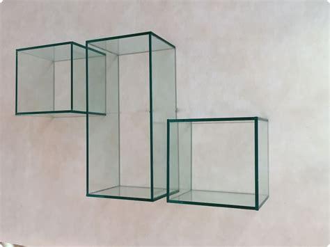 mensole in vetro mensole cubo l arredo vintage che non ti aspetti