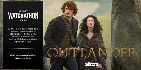 Watchathon Sweepstakes - xfinity watchathon week includes sweepstakes with outlander themed trip the