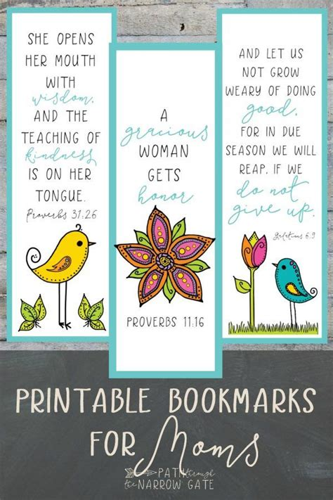 printable mom bookmarks whether you are a teacher and need a fast and easy gift