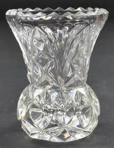 princess house toothpick holder glass retired criss
