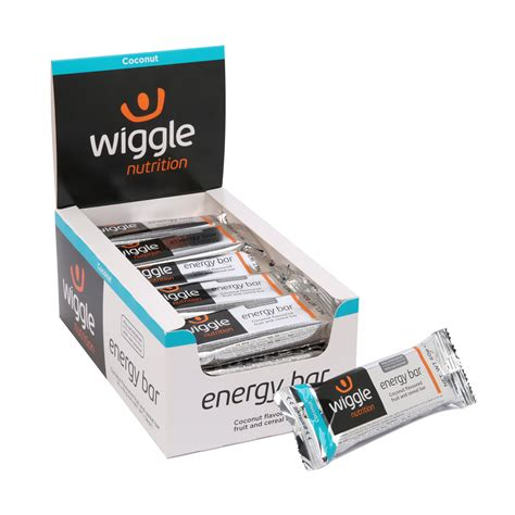 60g carbohydrates wiggle wiggle nutrition energy bar 20 x 60g energy