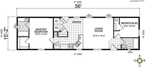 one bedroom mobile home floor plans manufactured homes and mobile homes albion living