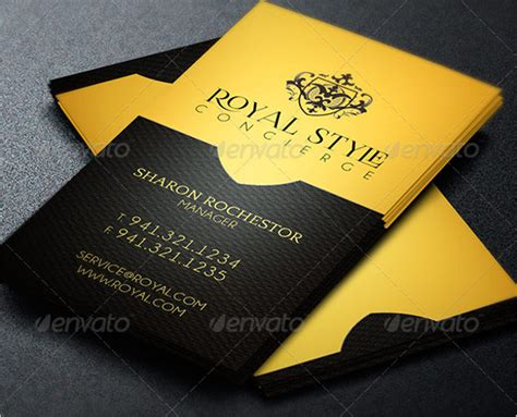 The Royal Store Business Card Template by Royal Business Card Template