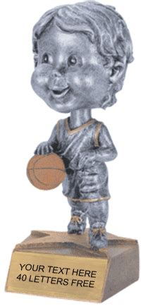 bobblehead basketball trophy basketball bobblehead jr resin trophy basketball