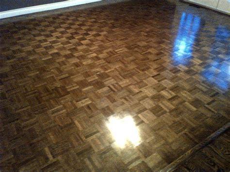 Parquet Floors Stained by Ahf Hardwood Floor Refinishing Professional Hardwood