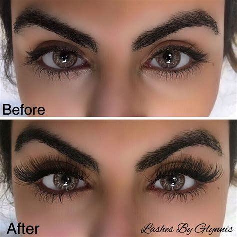 6 Best Eyelashes by Eyelash Extensions Before And After Dramatic Www
