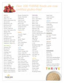 98 certified gluten free foods save on thrive freeze dried foods