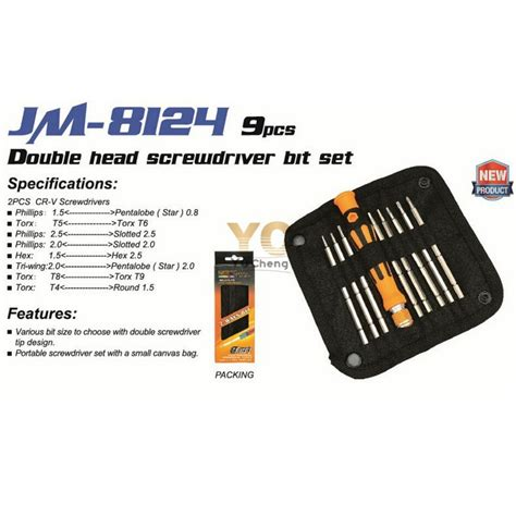 Jakemy 47 In 1 Precision Screwdriver Repair Tool Kit Jm 8146 jakemy 9 in 1 precision screwdriver repair tool kit jm 8124 jakartanotebook