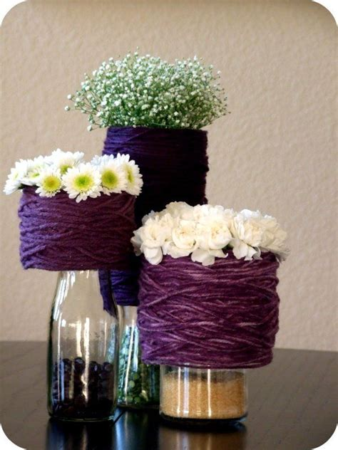 diy wedding table centerpiece ideas 52 best images about decorations on recycled