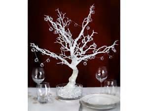 blanc decoratif arbre blanc d 233 coratif blanc organza