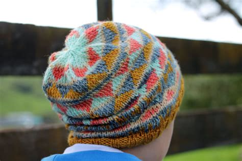 tribal pattern beanie tribal knitted beanie pattern instant download knitting