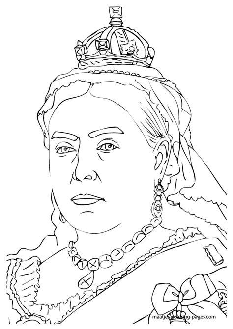 coloring pages royal family queen victoria coloring pages