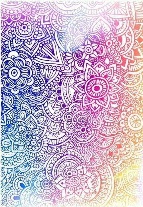 wallpaper doodle pink pin by hannah ailyn on mandalas y zentangle art