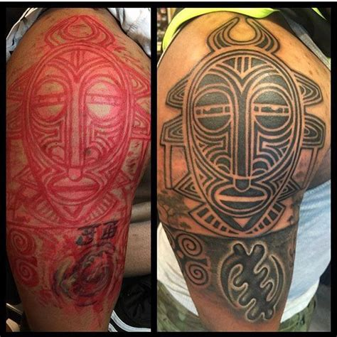 african tribal mask tattoos tribal mask www pixshark images