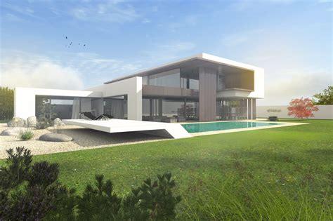architektenhaus flachdach mit staffelgeschoss