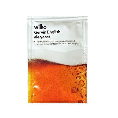 shoo for yeast wilko gervin ale yeast 11g at wilko