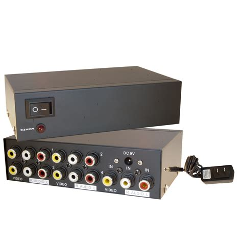 splitters switches composite av rca to hdmi composite video audio rca distribution amplifier