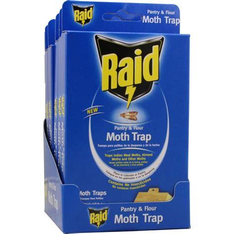 Pantry Moth Killer by Raid Pantry Moth Trap 12 Pack Pmoth Raid H The Home Depot