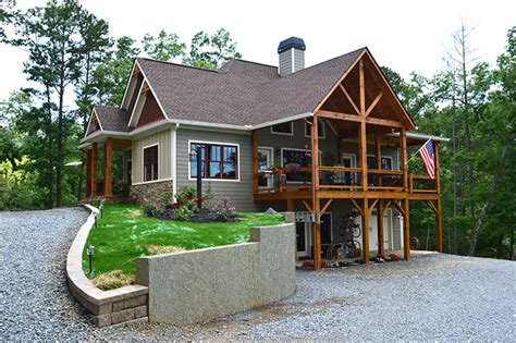 Lake Home Plans | lake wedowee creek retreat house plan lake house plans