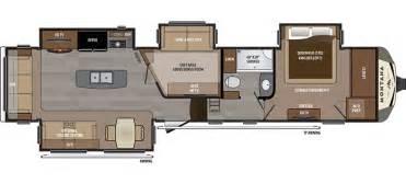Montana Travel Trailer Floor Plans by Montana 3950br Mid Bunk Floor Plan Office Amp Bunk 41