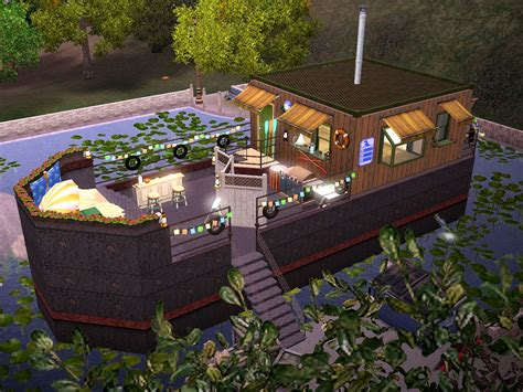sims 3 house boats mod the sims the houseboat