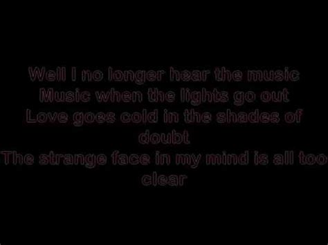 When The Lights Go Out Lyrics by When The Lights Go Out Lyrics