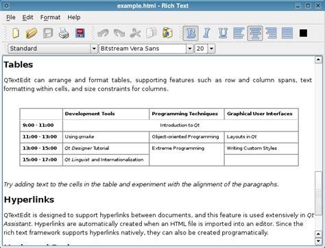 qt tutorial text editor text edit qt widgets 5 10