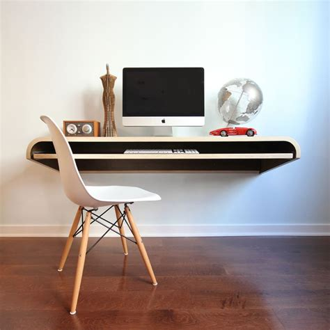 cool computer desk floating computer desk so cool organizer pinterest