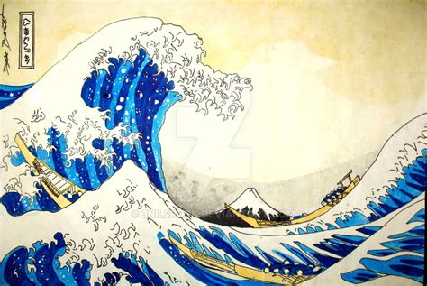 the great wave off kanagawa by 3nil2rock on deviantart