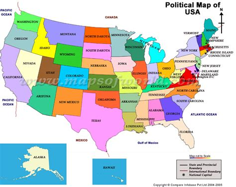 interactive political map of usa les etats unis thinglink