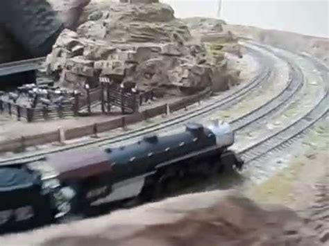 santa fe layout youtube ho scale santa fe steam locomotive on huge layout youtube