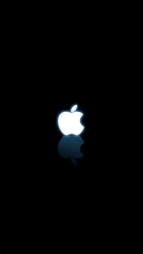 black  white apple logo iphone wallpapers apple