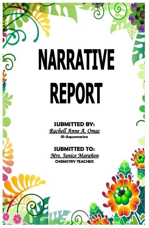 educational plan tour a narrative report