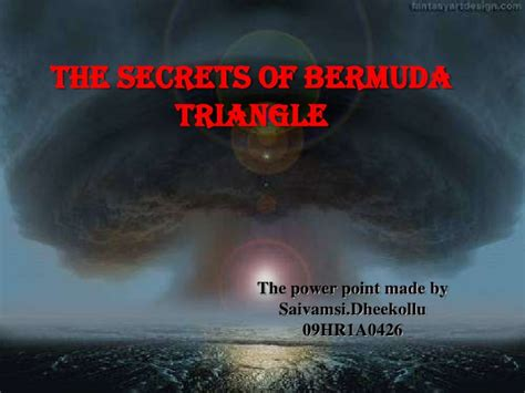 secrets of the bermuda triangle fox news bermuda triangle