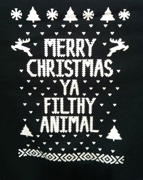 merry christmas ya filthy animal pictures   images  facebook tumblr pinterest
