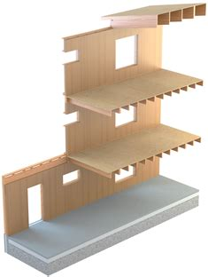 Building A Concrete Block House by Typical Structural Systems Wood Products