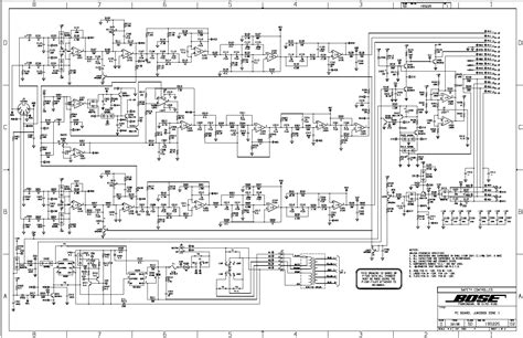 bose service schematics bose get free image about wiring