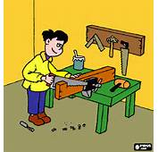 Carpintero Para Colorear Imprimir